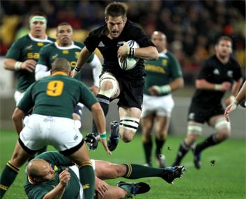 Richie McCaw vs South Africa