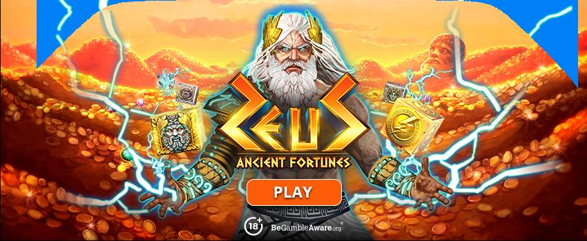 Ancient Fortune Zeus Banner