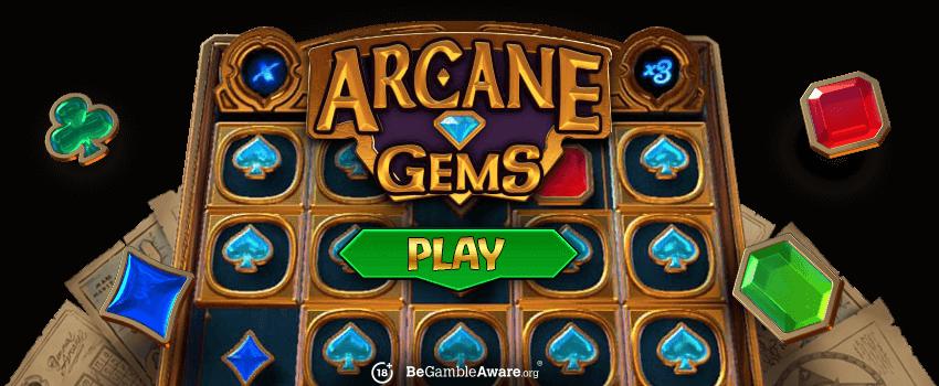 Arcane Gems Banner