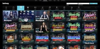 Betway Casino Online Games