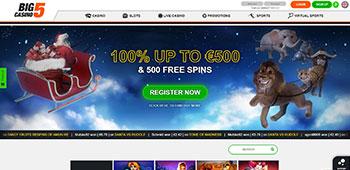 Big 5 casino welcome offer