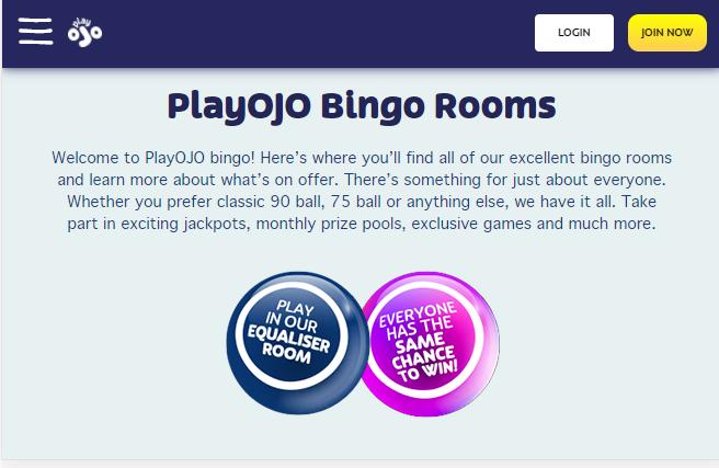 PlayOjo Bingo Image 7