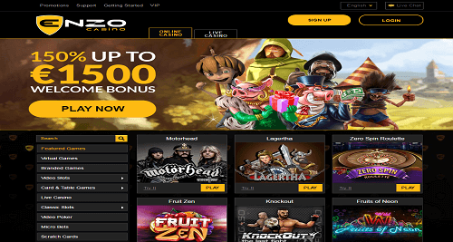 Enzo Online Casino Preview
