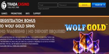 Trada Casino Screenshot 8