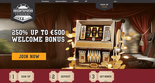 orient xpress casino Website Snapshot