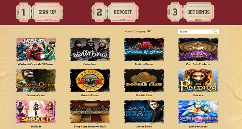 orient xpress casino Games