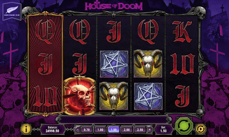 House of doom inplay