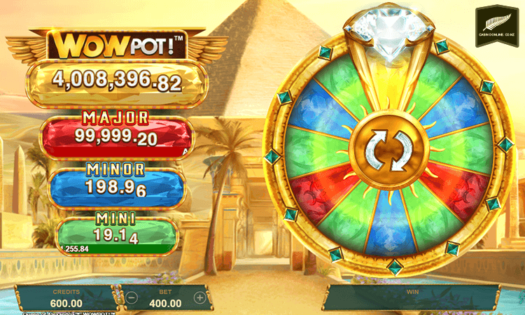 Queen of Alexandria Wowpot wheel