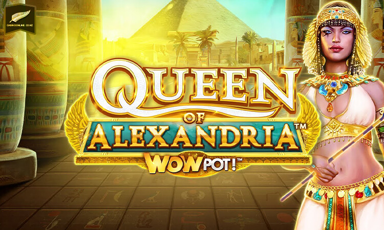 Queen of Alexandria Wowpot logo