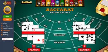 Count Montecryptos - Baccarat