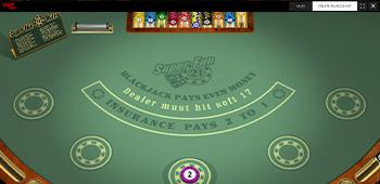 Vegas Baby Blackjack Screenshot