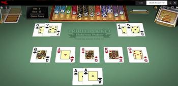Vegas Baby Poker Screenshot