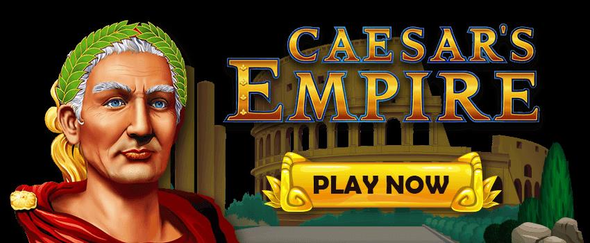 Caesar's Empire Banner