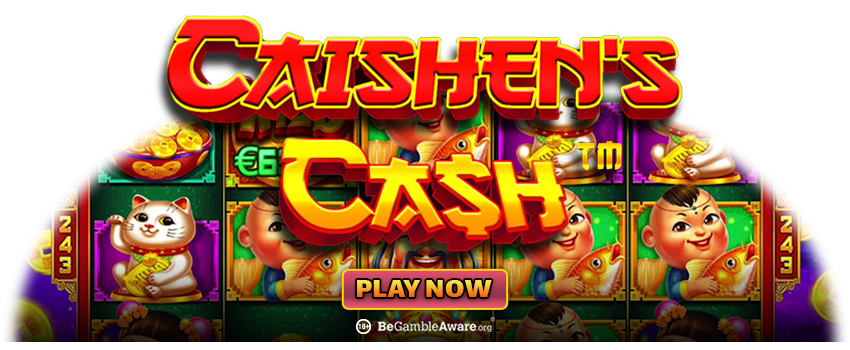 Caishen's Cash Online Pokies Game Banner
