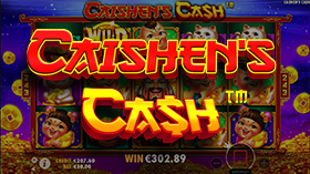 the Caishen's Cash Online Pokies Game Thumbnail