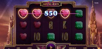 Casino Superlines diamond heaven slot inplay