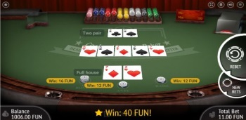 Casino.Com Table Game in Play