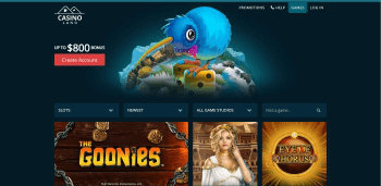 Casino Land Home Page