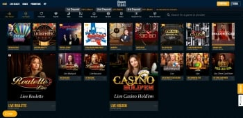 Dream Vegas Live Games