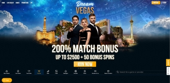 Dream Vegas Welcome Offer