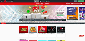 Genting Casino promotions page