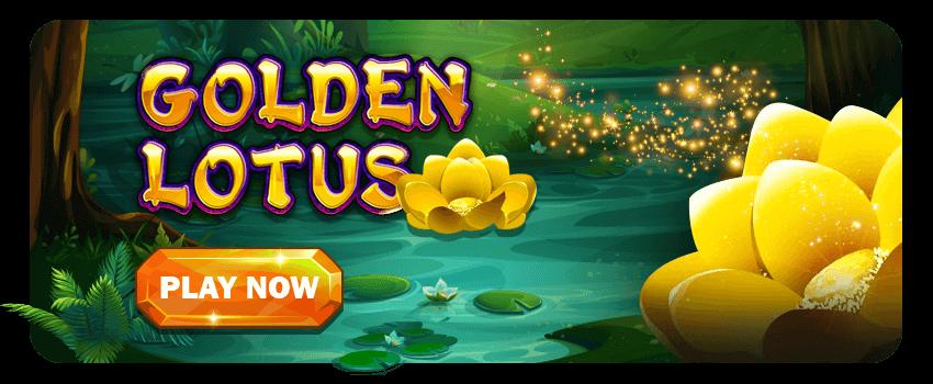 Golden Lotus Banner