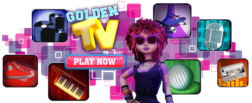 Golden TV Banner