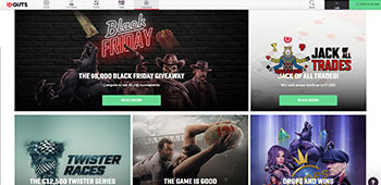 GUTS Casino promotions page