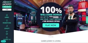 Jonny Jackpot Home Page