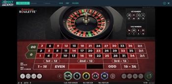 Jonny Jackpot Roulette Table