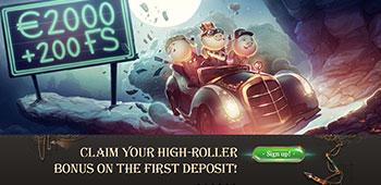 Joy Casino promotions page