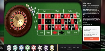 LeoVegas Roulette Table