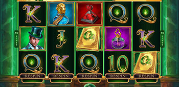 Luckland Casino book of oz slot inplay