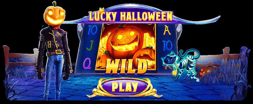 Luck Halloween Banner