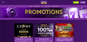 Majestic Slots Casino promotions
