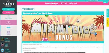 Miami Dice Casino promotion