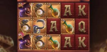 Miami Dice Casino captains bounty slot inplay