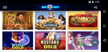 Mr Bet Online Slot Games