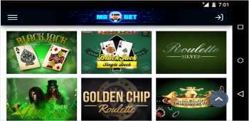 Mr Bet Online Table Games
