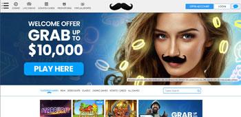 Mr Play Casino homepage