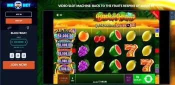 Mr Bet Online Slot Screenshot