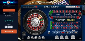 Mr Bet Roulette Table
