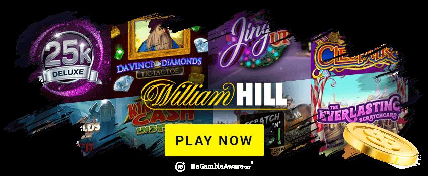 William Hill Scratch Cards