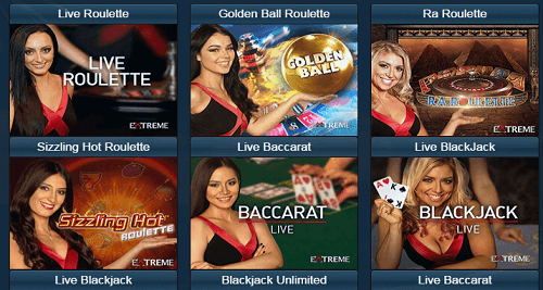 Live Dealer at Oceanbets Casino