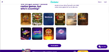 Casumo Casino promotions page