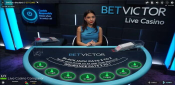 Betvictor roulette live
