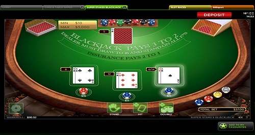Play Blackjack at Wicked Jackpots Online Casino
