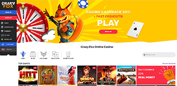 Crazy Fox Homepage