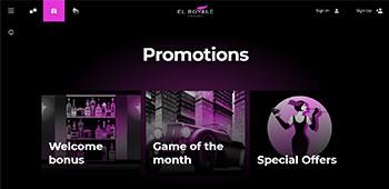 El Royal Casino Homepage