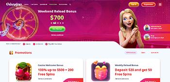 Grasino Casino homepage
